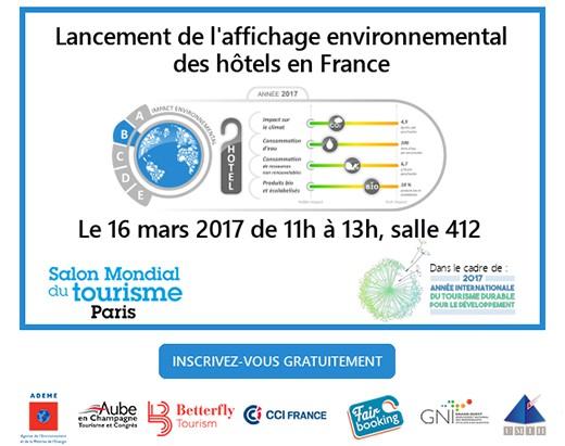 affichage environnemental hotel